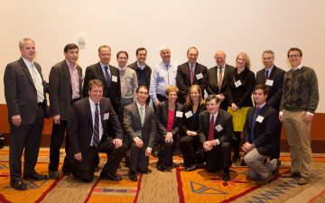 Current and former staff of the Joint Committee on Taxation at the 107th Annual Conference in Santa Fe, New Mexico
